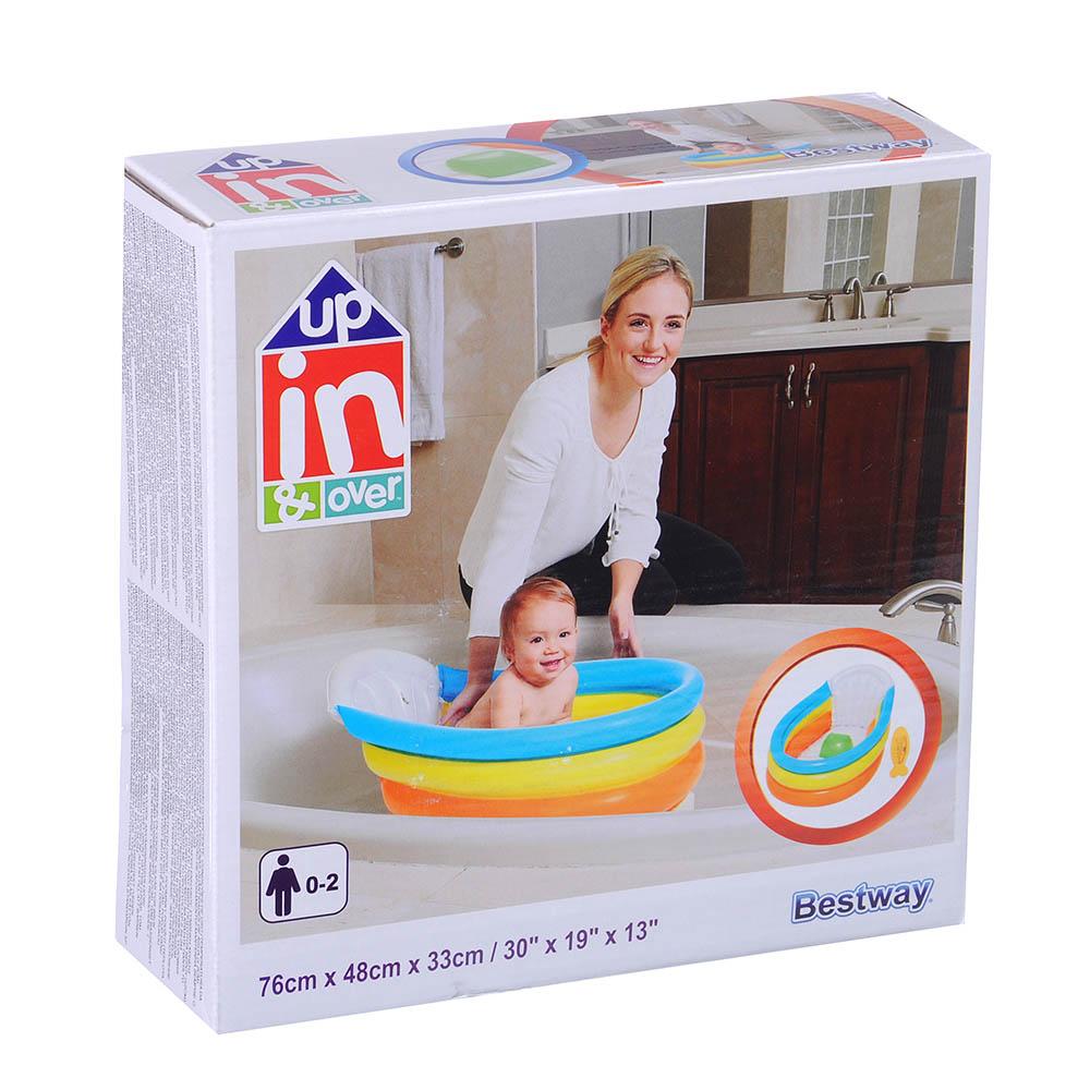 Надувной бассейн для младенцев BESTWAY 51134, 76х48х33 см