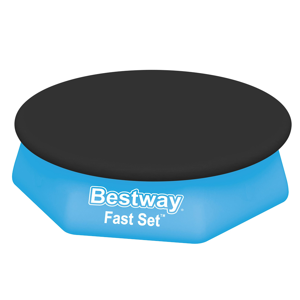 BESTWAY Тент для бассейнов с надувным бортом Ф244 см,280 см,58032