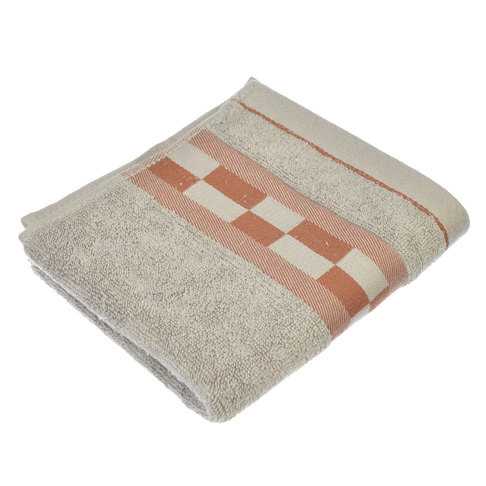 Полотенце для рук махровое, хлопок, 3 цвета, 33х72см