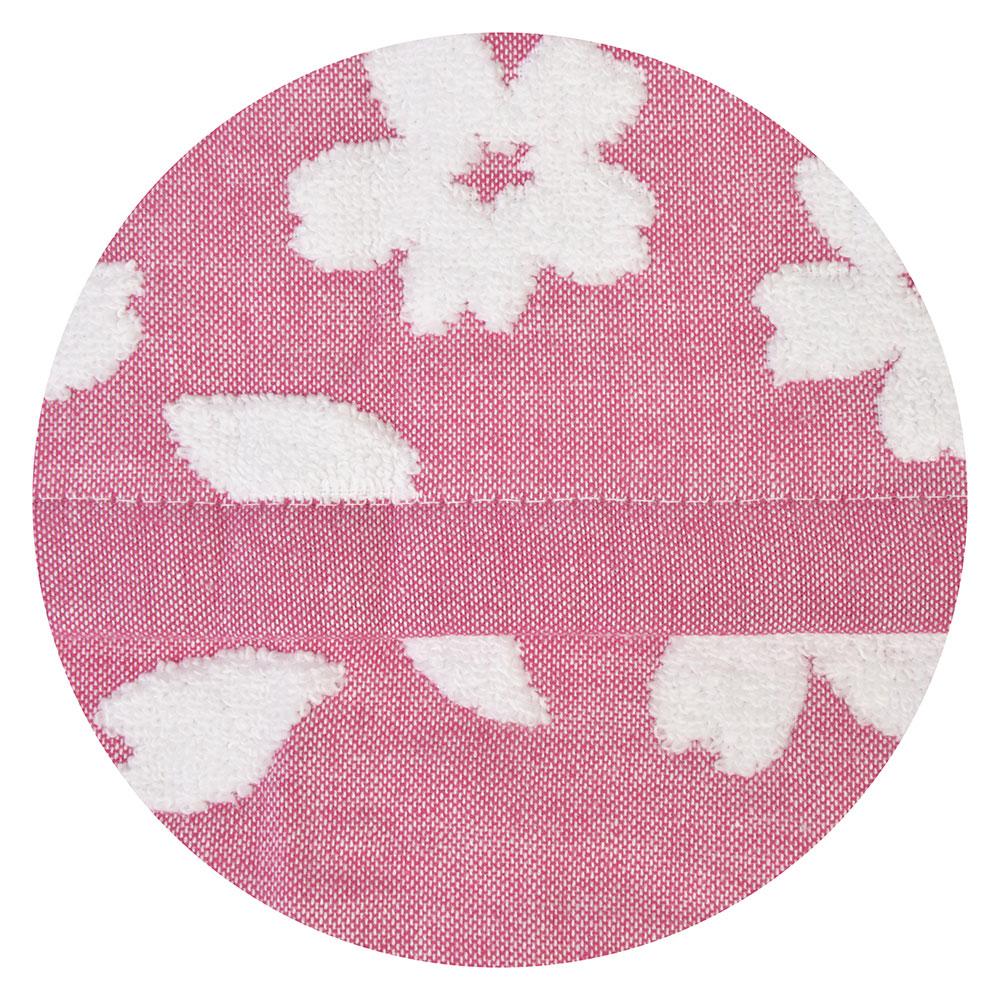"""Полотенце для рук махровое, хлопок, 33х73см, 3 цвета, """"Цветение"""""""