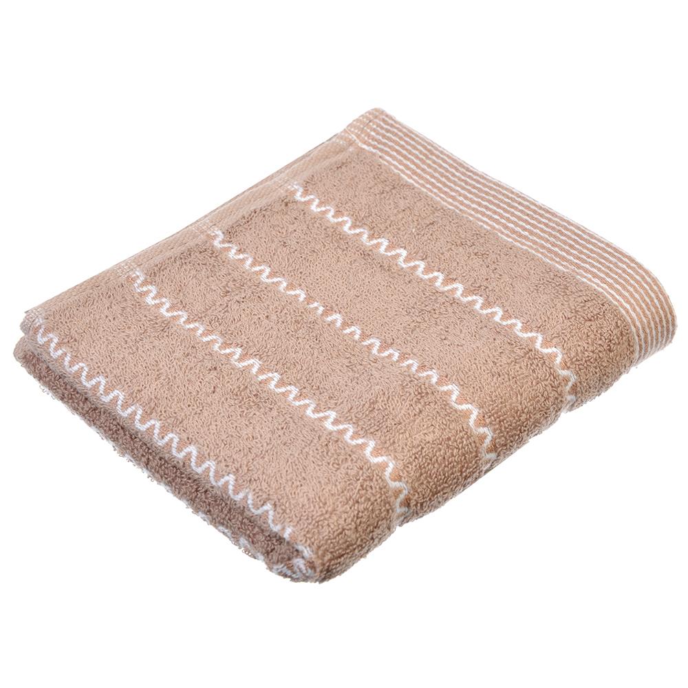 """Полотенце для рук махровое, хлопок, 33х73см, 3 цвета, """"Стиль"""""""