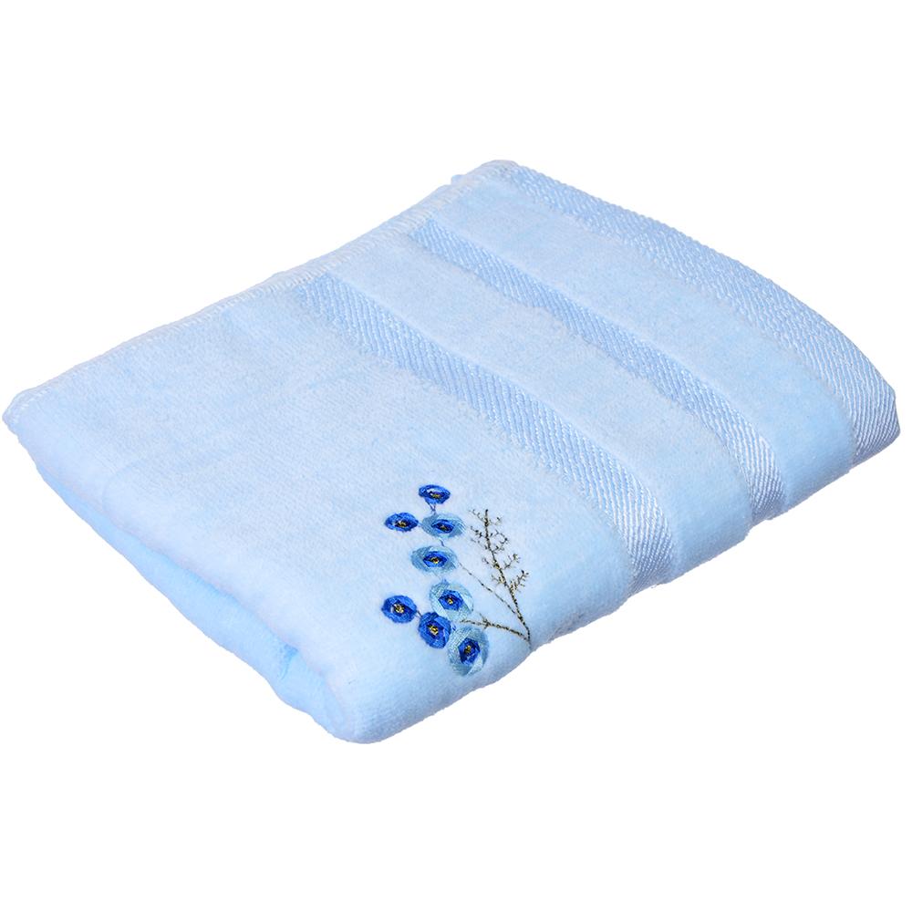 """Полотенце для рук махровое в подарочной упаковке, хлопок, 33х75см, 3 цвета, """"Веточки"""""""