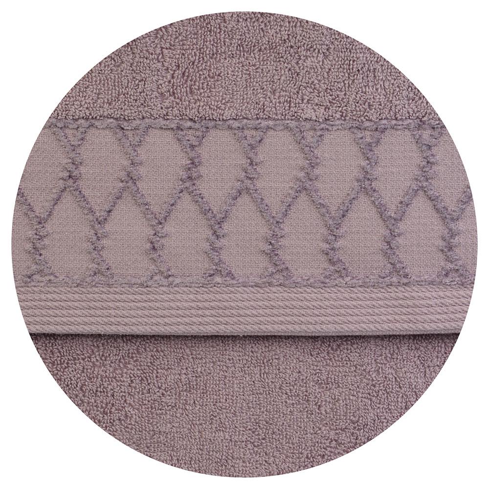 """Полотенце для рук махровое, хлопок, 33х75см, 4 цвета, """"Плетение"""""""