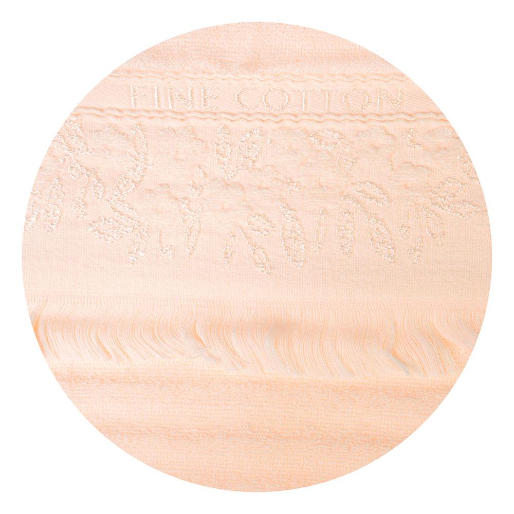 """Полотенце для рук махровое, хлопок, 34х73см, 3 цвета, """"Нежная волна"""""""