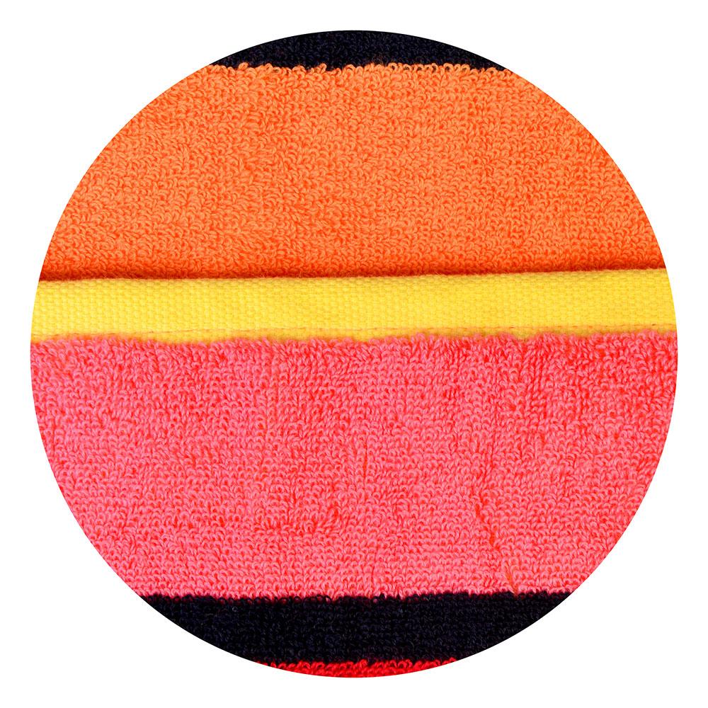 """Полотенце для рук махровое, хлопок, 34х75см, 3 цвета, """"Полоска"""""""