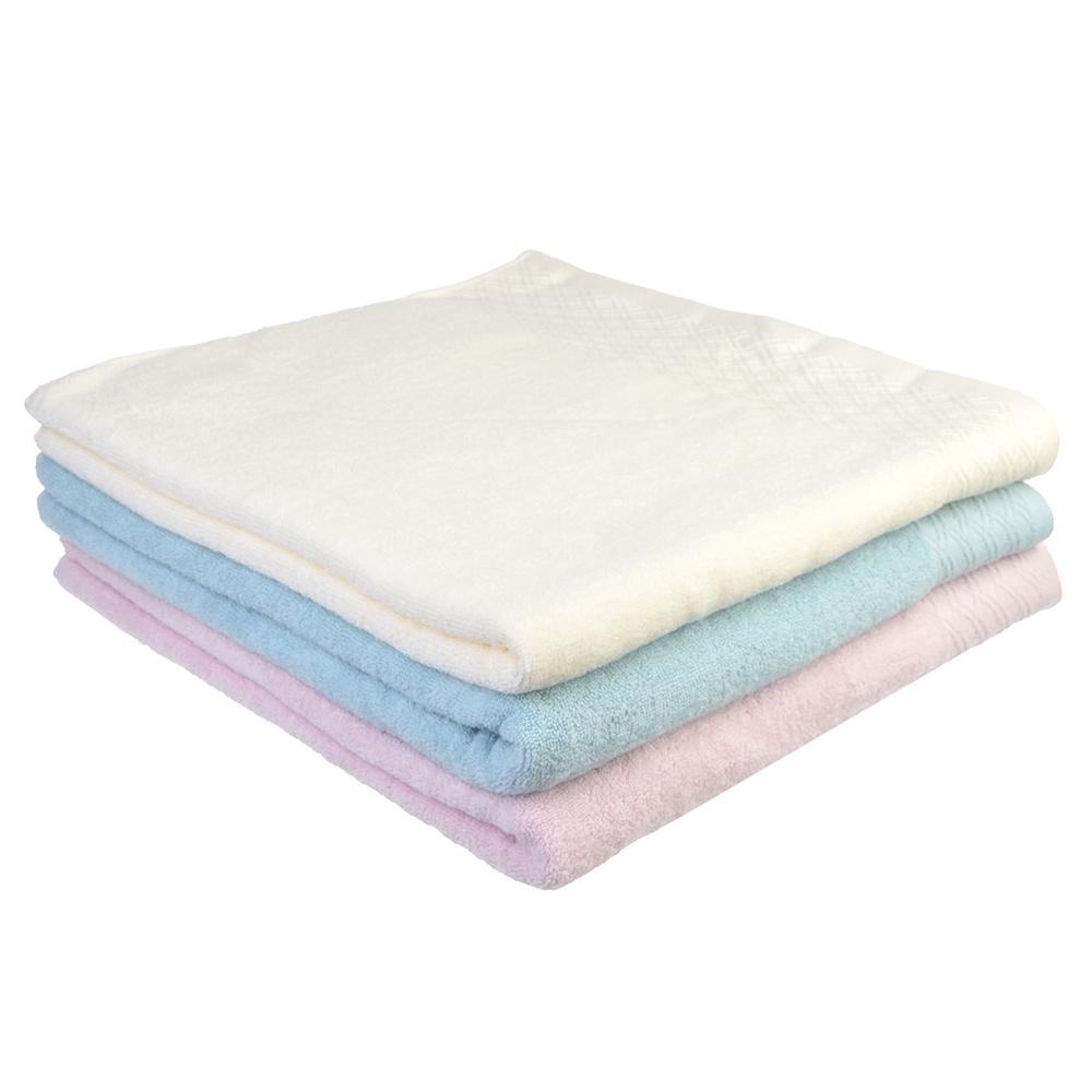 """Полотенце банное махровое, хлопок, 70х140см, 4 цвета, """"Легкость"""""""
