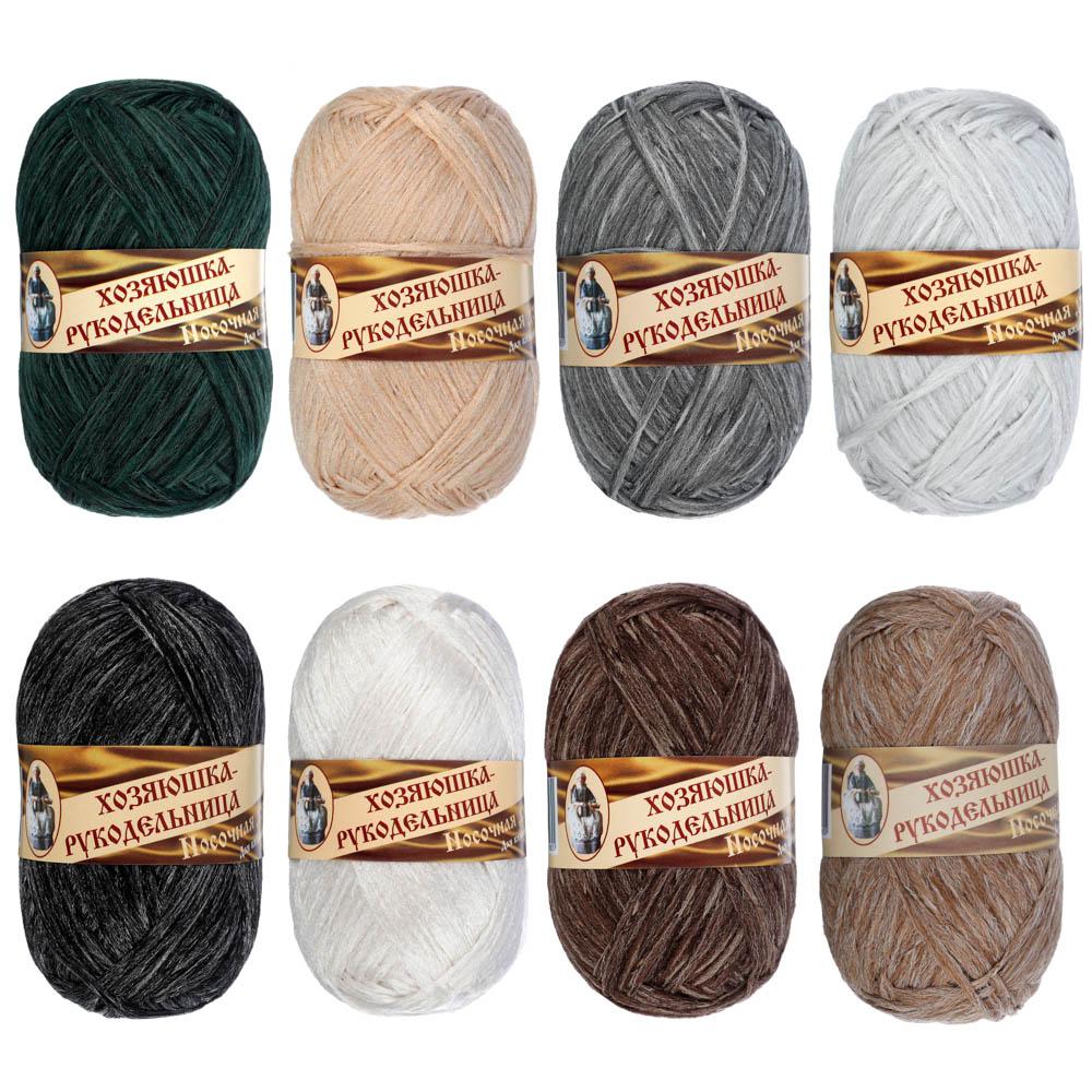 """Пряжа для вязания """"Носочная добавка"""", 100% полипропилен, 250м/50гр * 3шт"""
