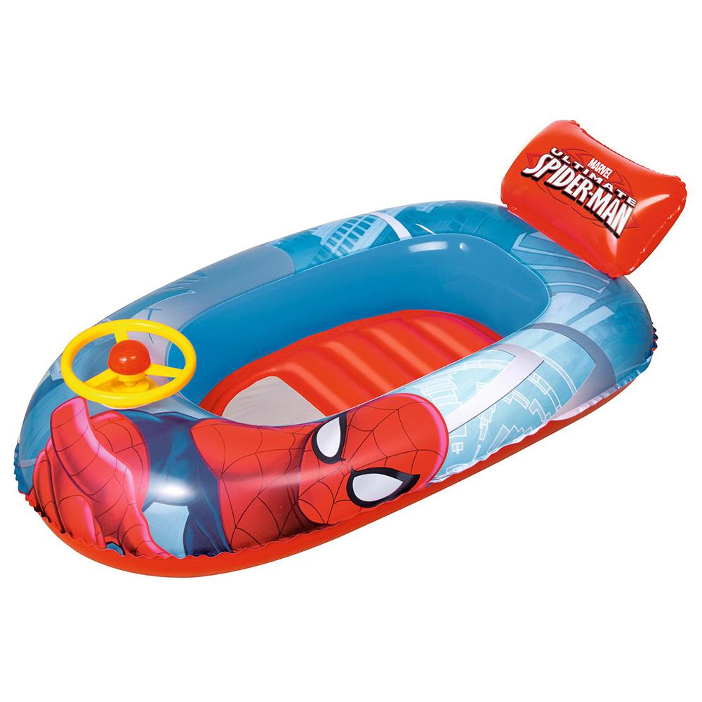 BESTWAY Лодочка надувная Spider-Man, 112х71см, 98009