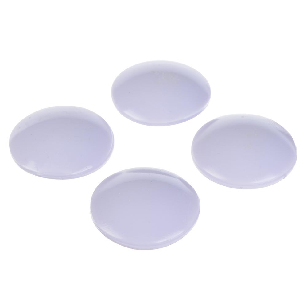 Защита для мебели универсальная 4 шт., силикон, 4х4x0,8см, 4 цвета
