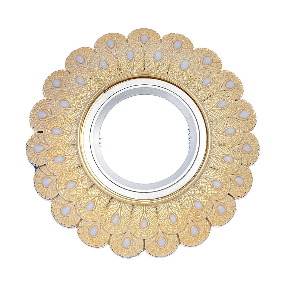 FORZA Светильник встраиваемый, № 15 лампа MR16, цоколь GU 5.3, пластик, d11,5см ±0,5см