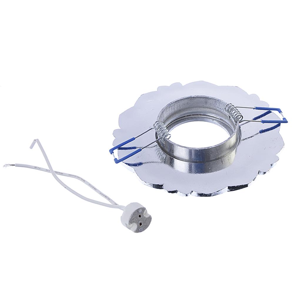 FORZA Светильник встраиваемый, № 18 лампа MR16, цоколь GU 5.3, пластик, d11,5см ±0,5см