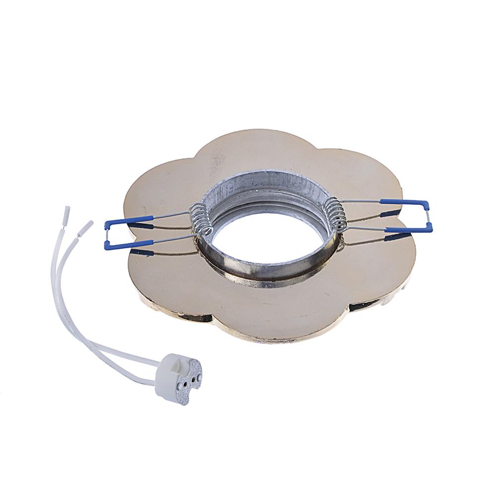FORZA Светильник встраиваемый, № 20 лампа MR16, цоколь GU 5.3, пластик, d11,5см ±0,5см