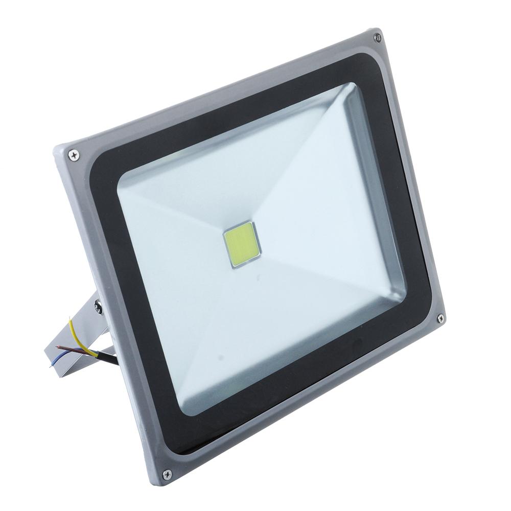 Прожектор светодиодный СОБ 50Вт, 250В, IP65, алюминиевый сплав/стекло