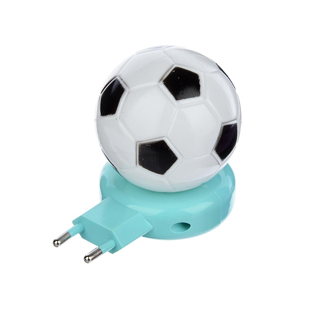 Ночник светодиодный с выключателем Мяч, пластик, 220 В