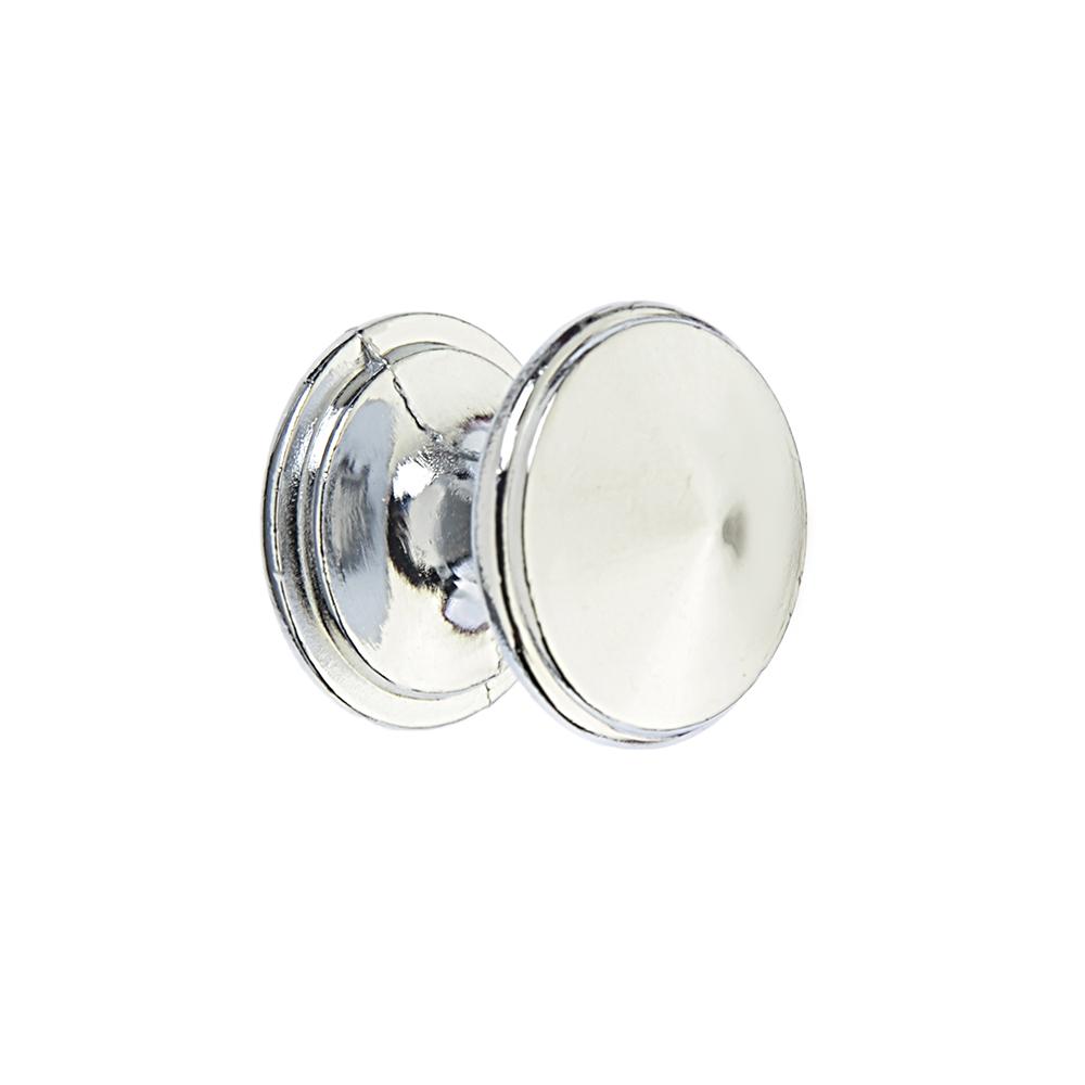 Ручка мебельная кнопка К-05(CP)хром