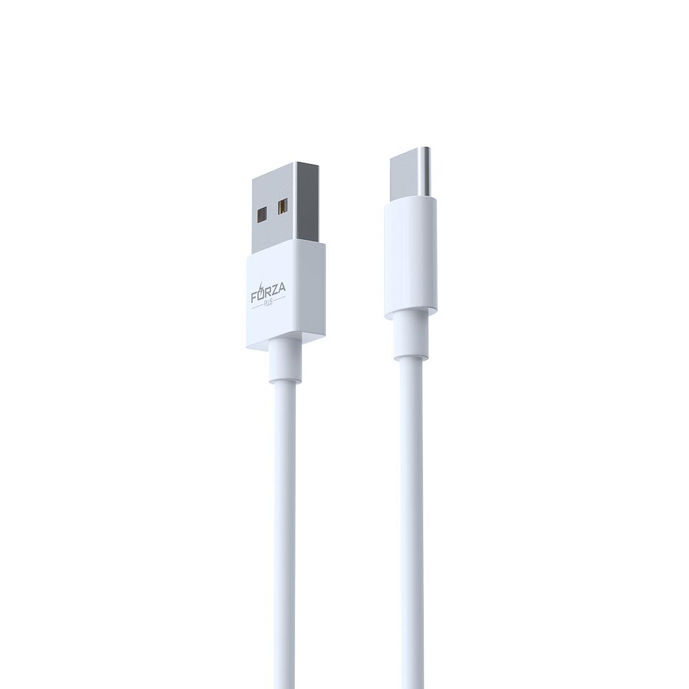 FORZA Шнур для зарядки смартфонов USB Type-C, 1М, 1,2A