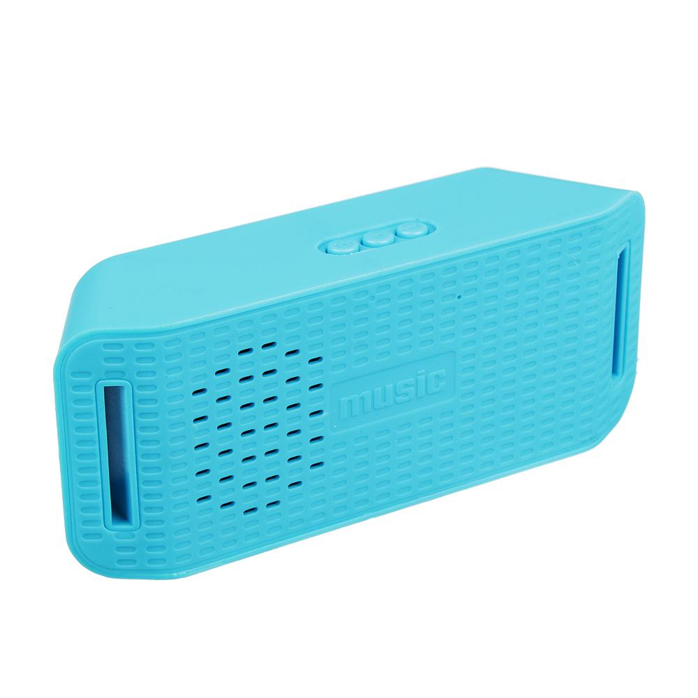 Аудиоколонка FORZA беспроводная, софт-тач, 13х5,5х3,6 см, 300 мАч, 5 цветов
