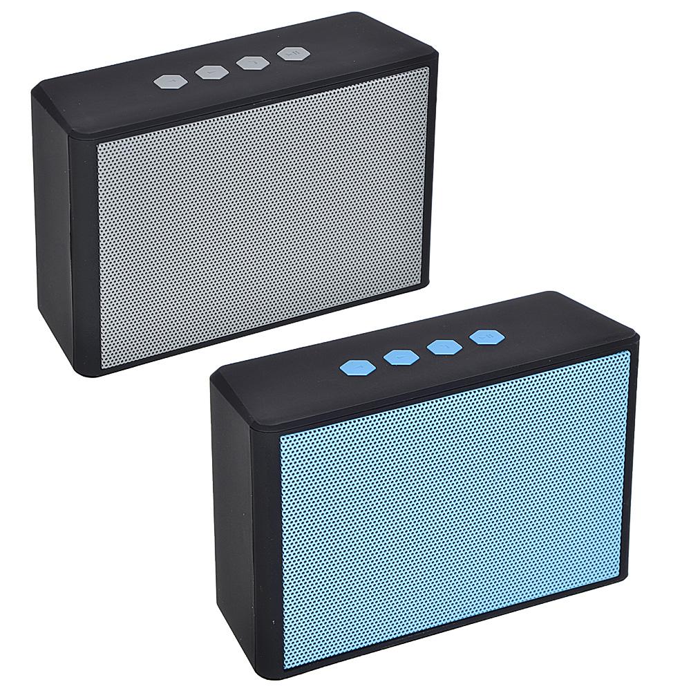 Аудиоколонка FORZA беспроводная, 11,5x4,5x7,5см, софт-тач, 300мач, 2 цвета