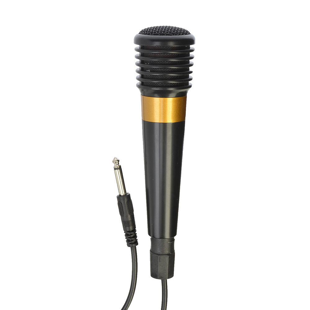 FORZA Микрофон, 16см, 6.3 мм Jack, провод 3м, металл, пластик, 1 цвет