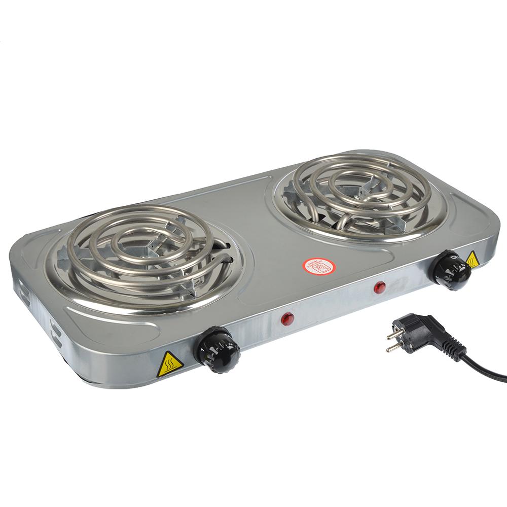 Плитка электрическая двухконфорочная ПРОМО