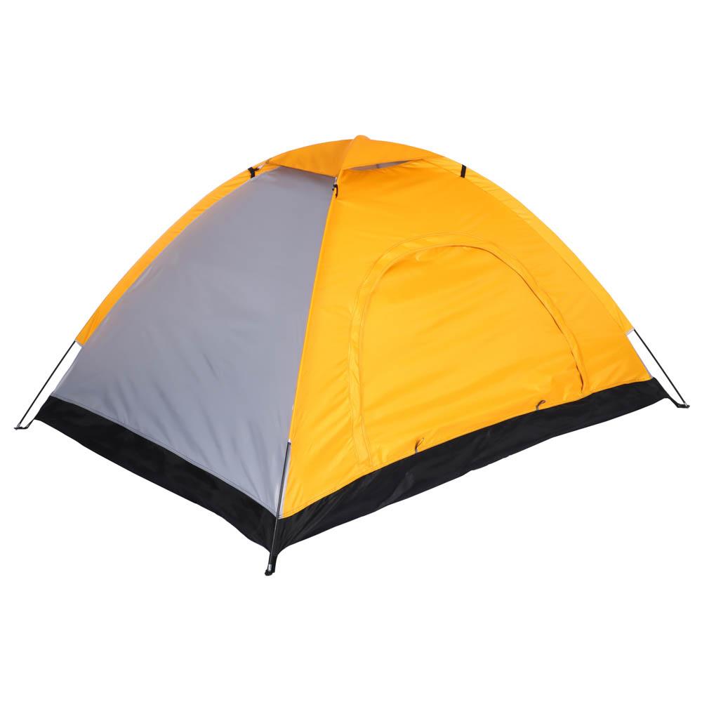 ЧИНГИСХАН Палатка 2-мест, Стандарт, 195х145х110см, нейлон 170T, дно оксфорд 150D