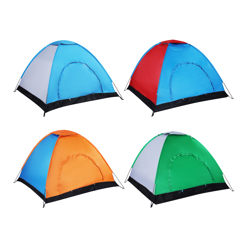 ЧИНГИСХАН Палатка 4-мест, Стандарт, 190х190х130см, нейлон 170T, дно оксфорд 150D