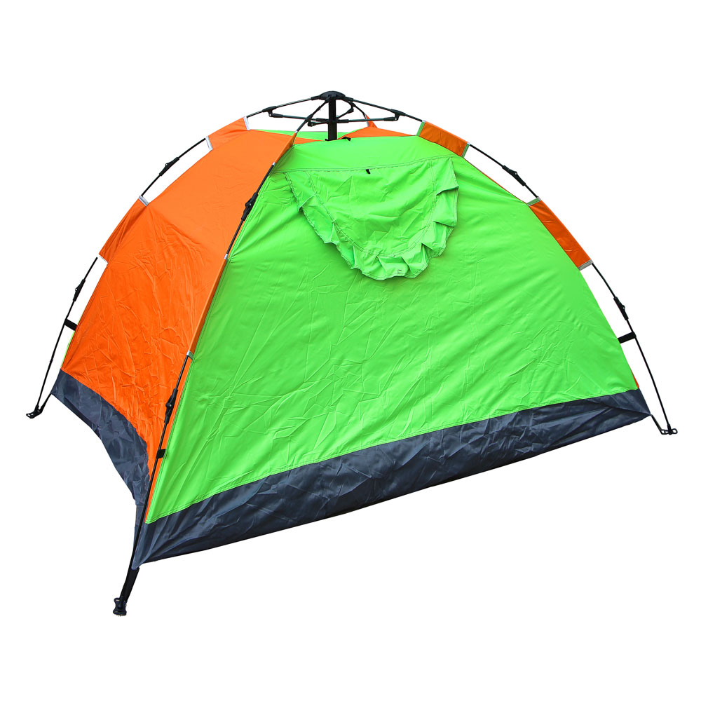 ЧИНГИСХАН Палатка 4-мест, Автомат, 200х195х140см, нейлон 170T, дно оксфорд 150D