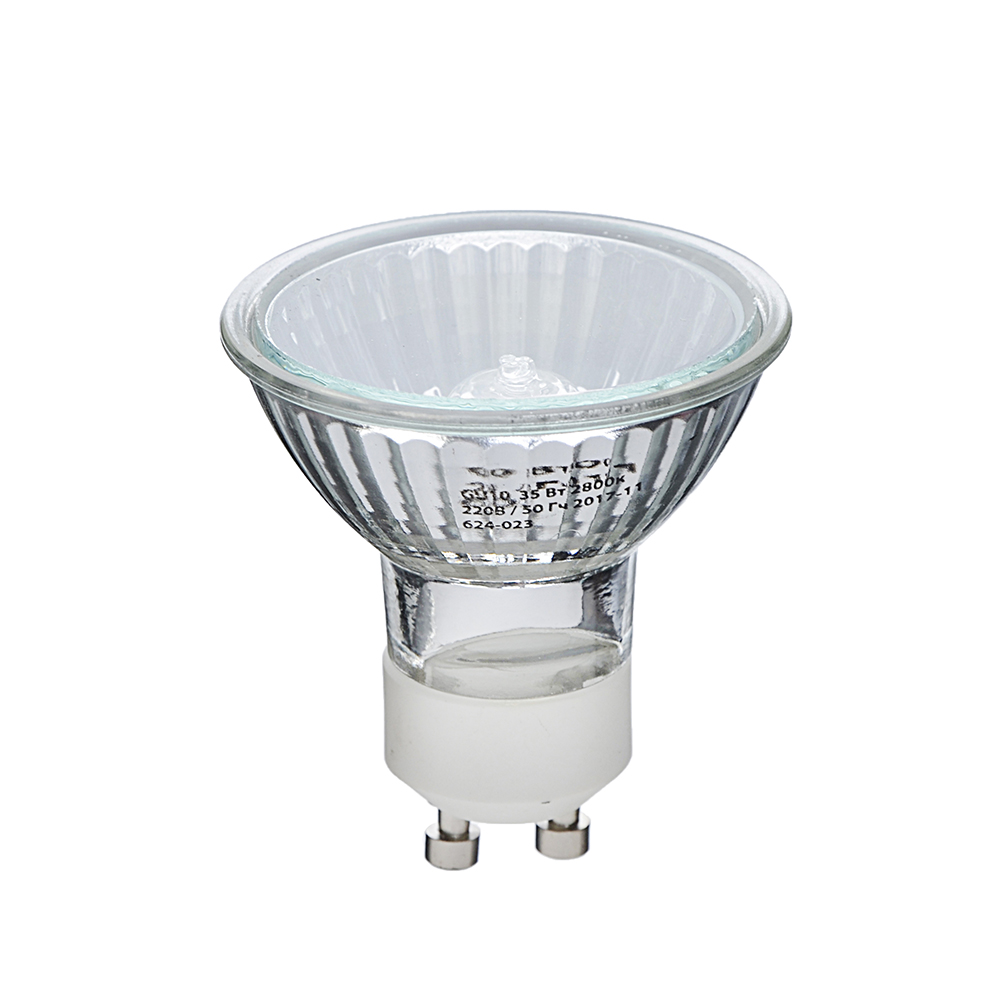 ЕРМАК Лампа галогенная рефлекторная, GU10, 220 В, 35 Вт