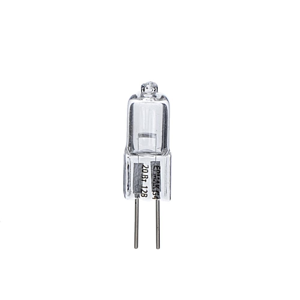 ЕРМАК Лампа галогенная капсульная, G4, 12 В, 20 Вт
