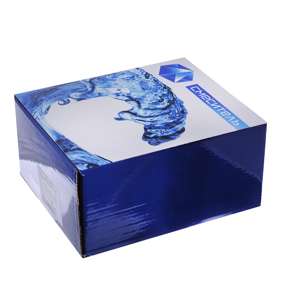 Смеситель Klabb 0101-486 для раковины, керам. картридж 40 мм, хром, без подв D