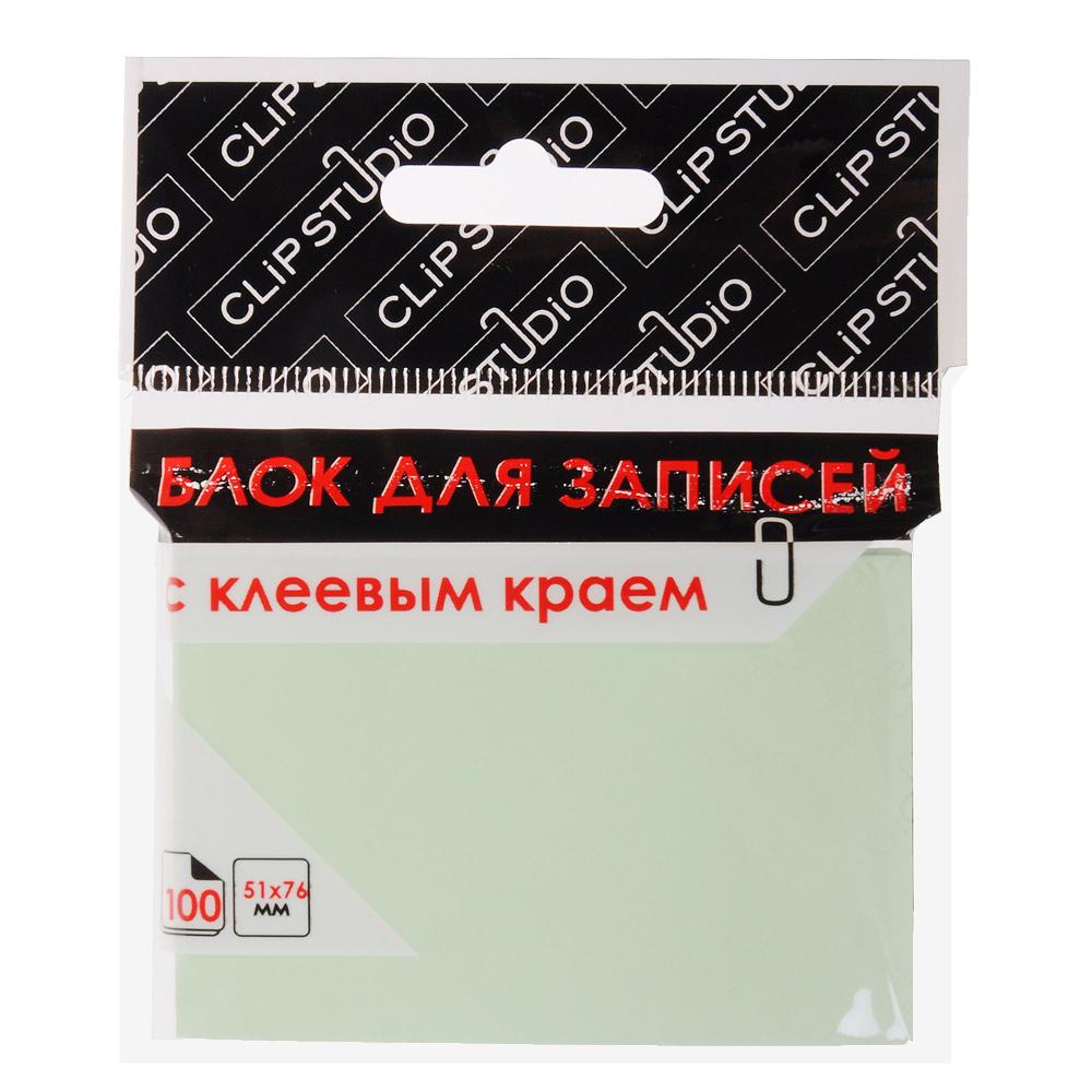 Блок с клеевым краем ClipStudio 100 листов, 4 цвета