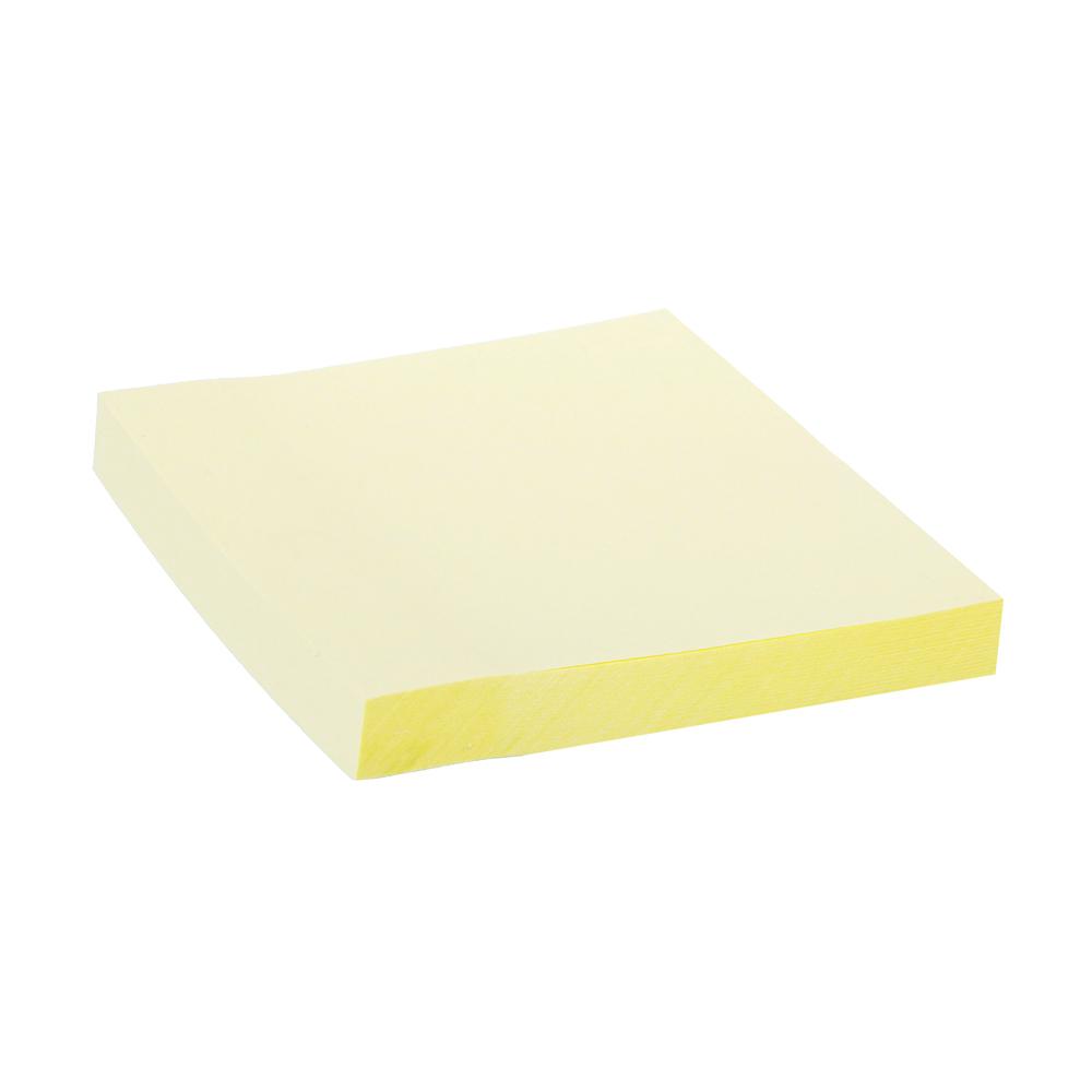 Блок с клеевым краем ClipStudio 76x76мм, 100 листов, желтый