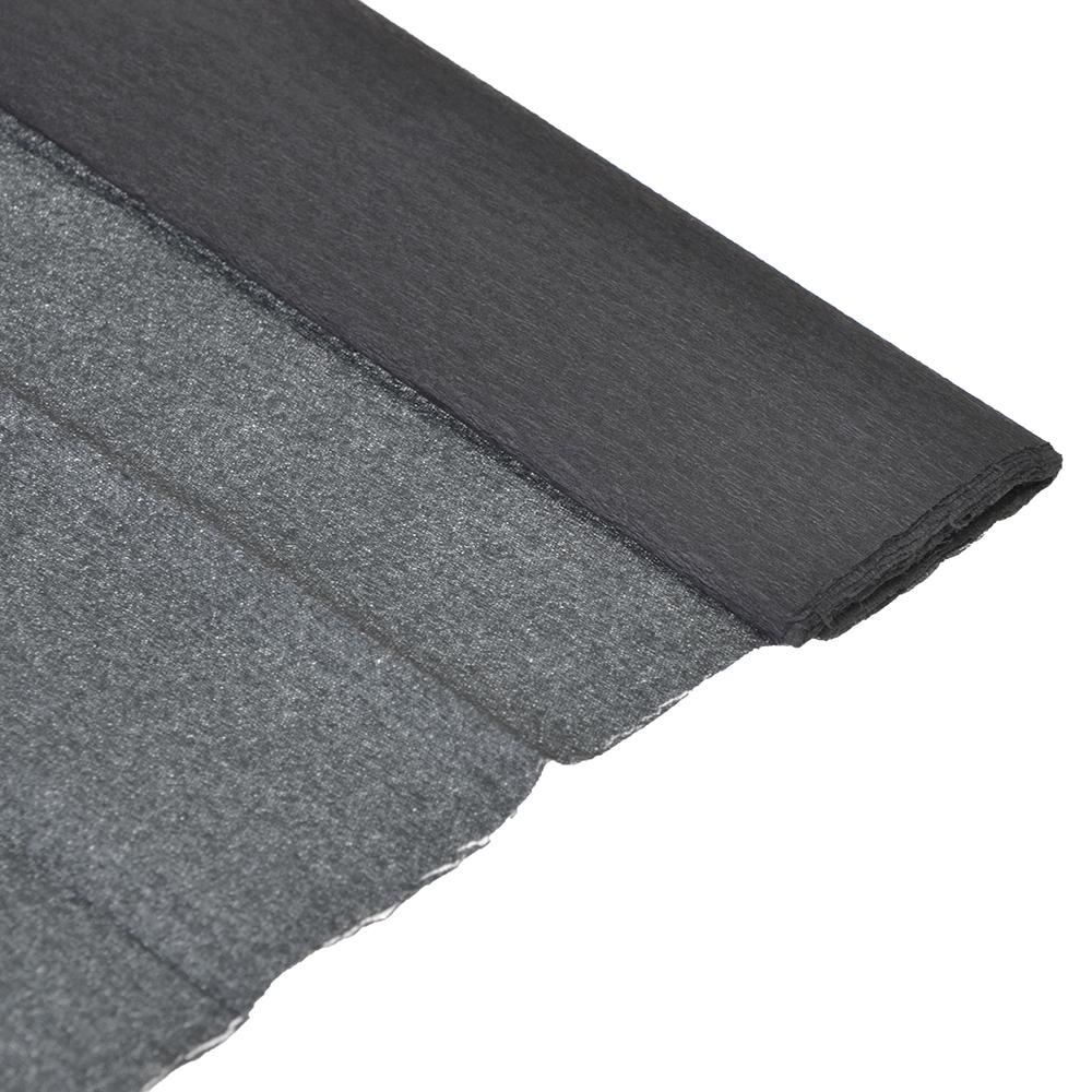 Гофрированная бумага 50х200см, черная