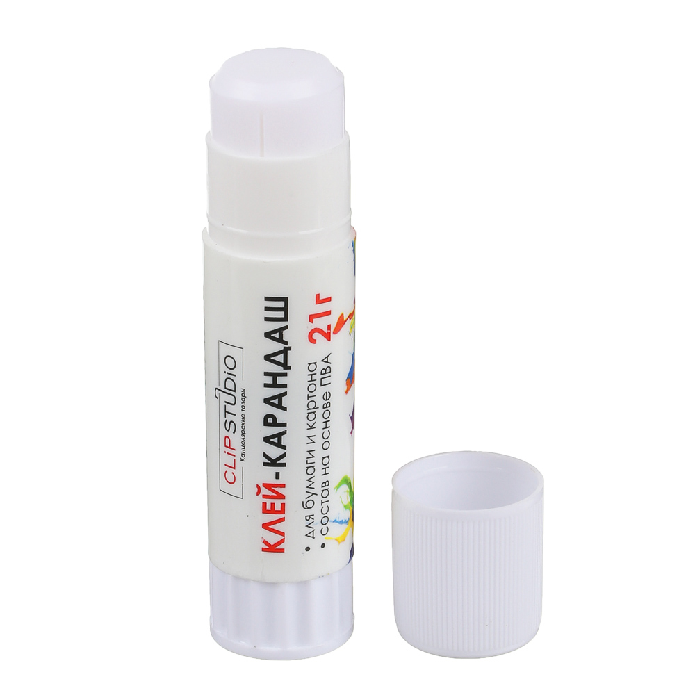 Клей-карандаш ClipStudio на основе PVA 21 гр
