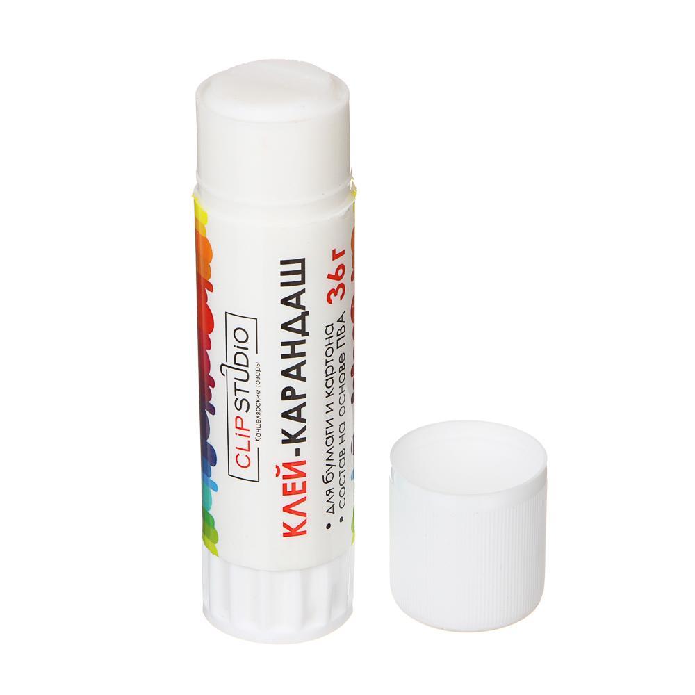 Клей-карандаш ClipStudio на основе PVA 36 гр