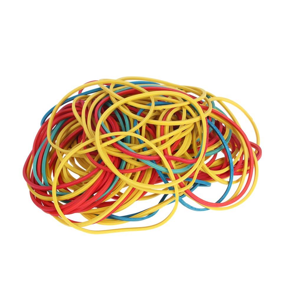 Набор банковских резинок ClipStudio 100 гр, цветные