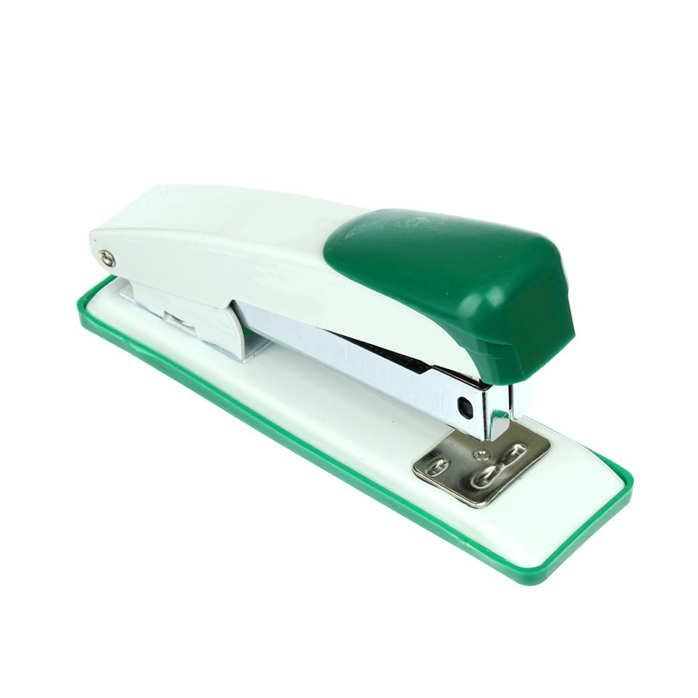 Степлер канцелярский для скоб №24/6, металлический корпус, ассорти 3 цвета, в карт.уп, ClipStudio
