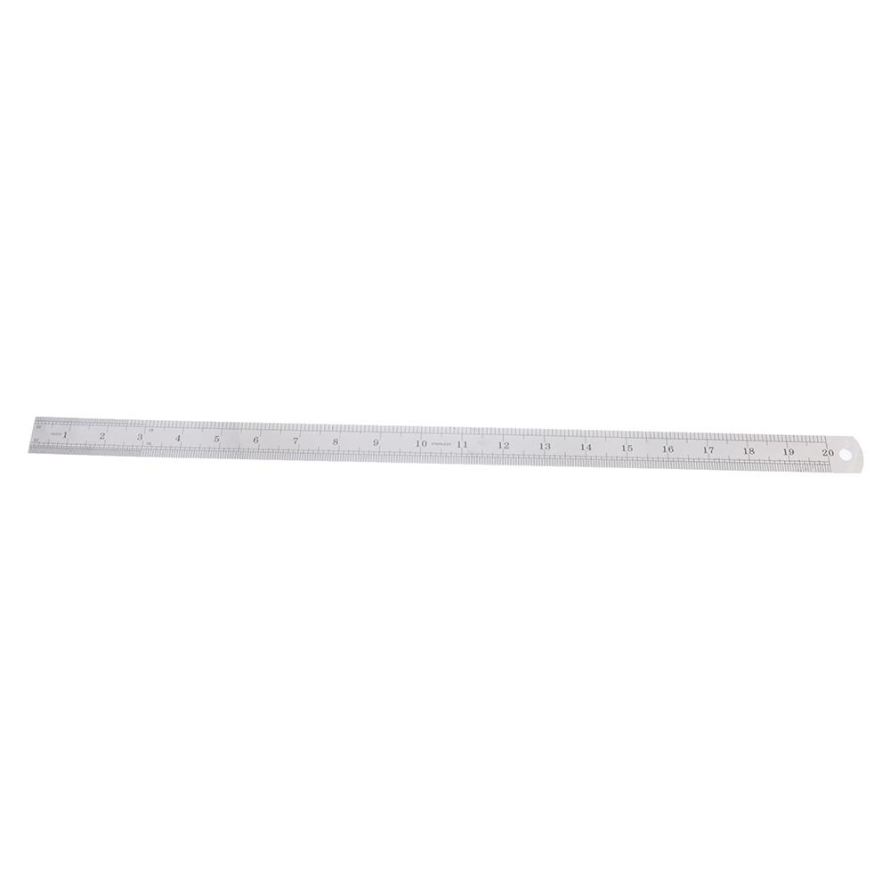 Линейка стальная 50 см, толщина 0,5 мм, в пластиковом чехле ClipStudio