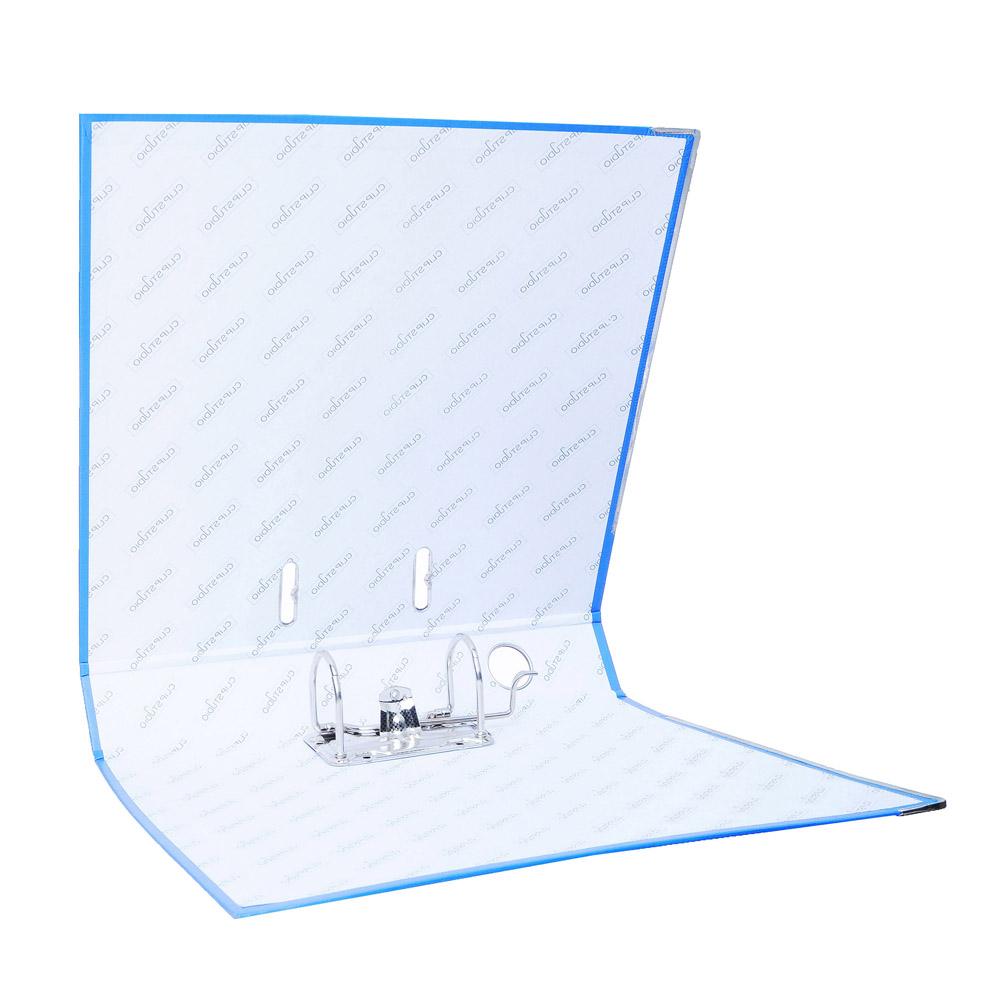 Папка с арочным механизмом A4 синяя, корешок 5 см РР, с металлической окантовкой, ClipStudio