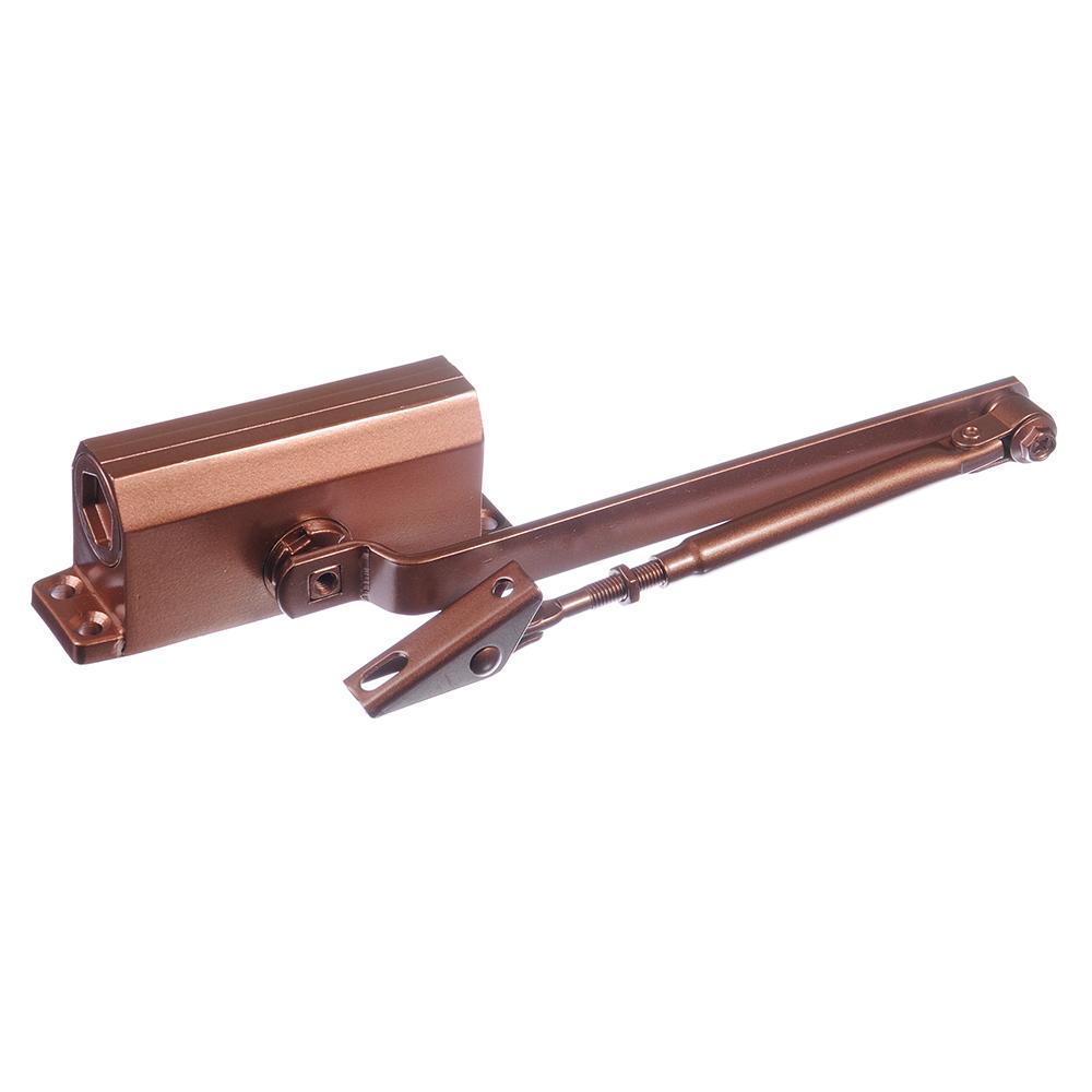 KORAL Доводчик дверной, морозоустойчивый, HD-125 (0-40кг) античная медь