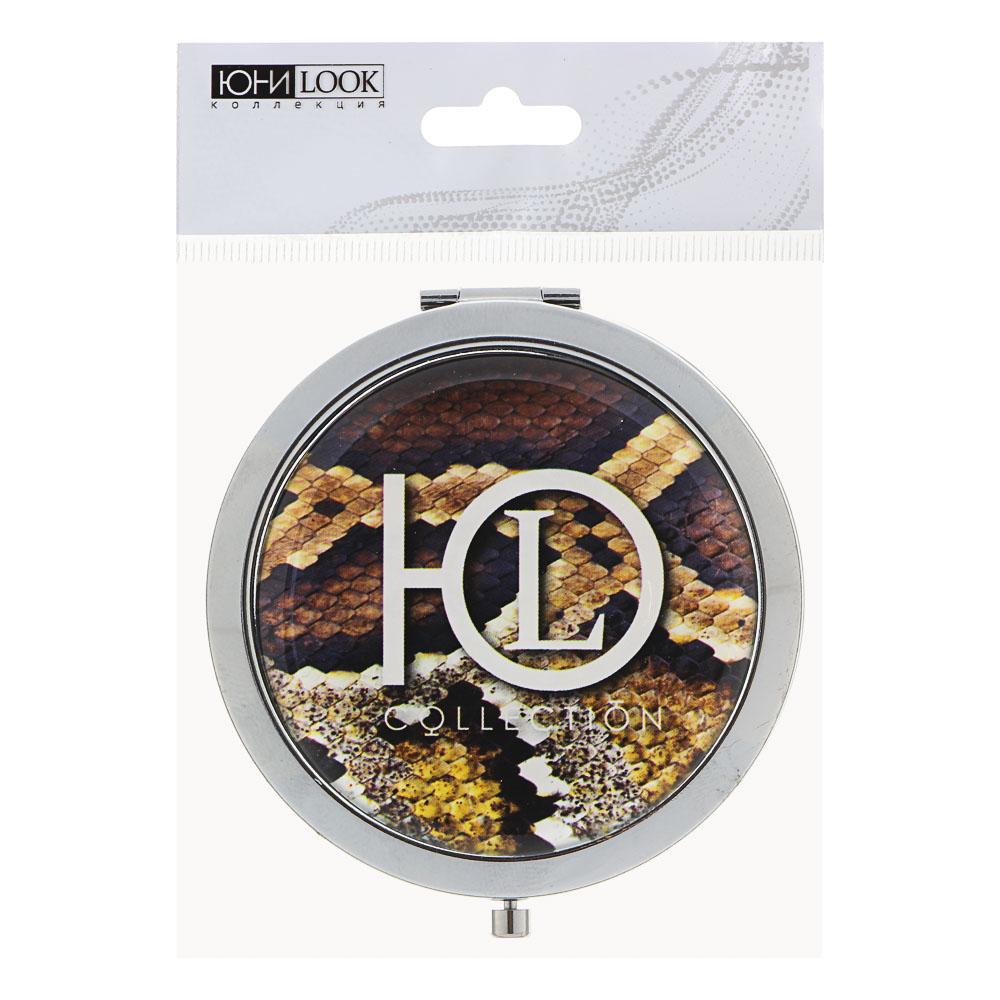 Зеркало карманное ЮниLook, d.7 см, 4-20 дизайнов