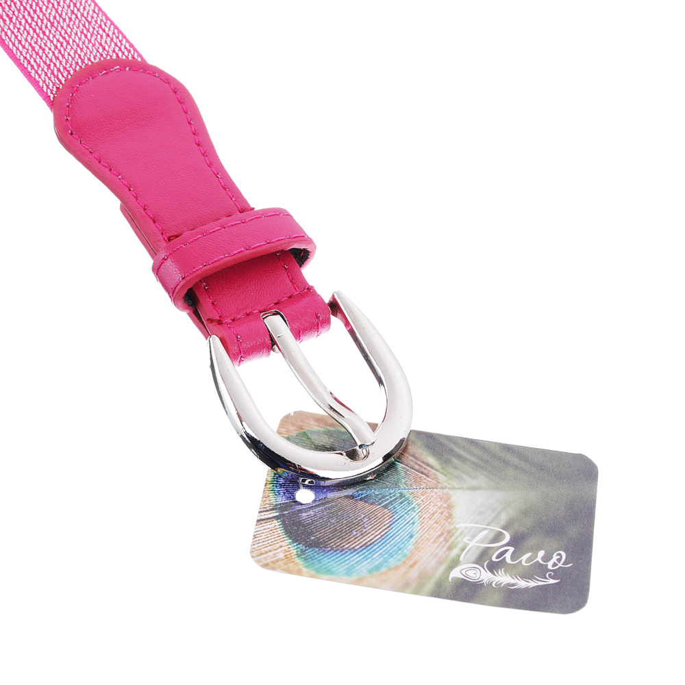 Ремень для девочек, ПУ, сплав, ширина 2,5  см, длина 60/70 см, 2-4 цвета, PAVO