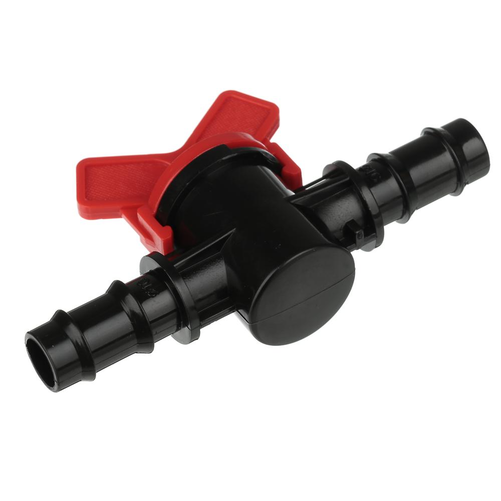 Кранпроходной для шланга, пластмасса, d16x16 мм, 3х10х6