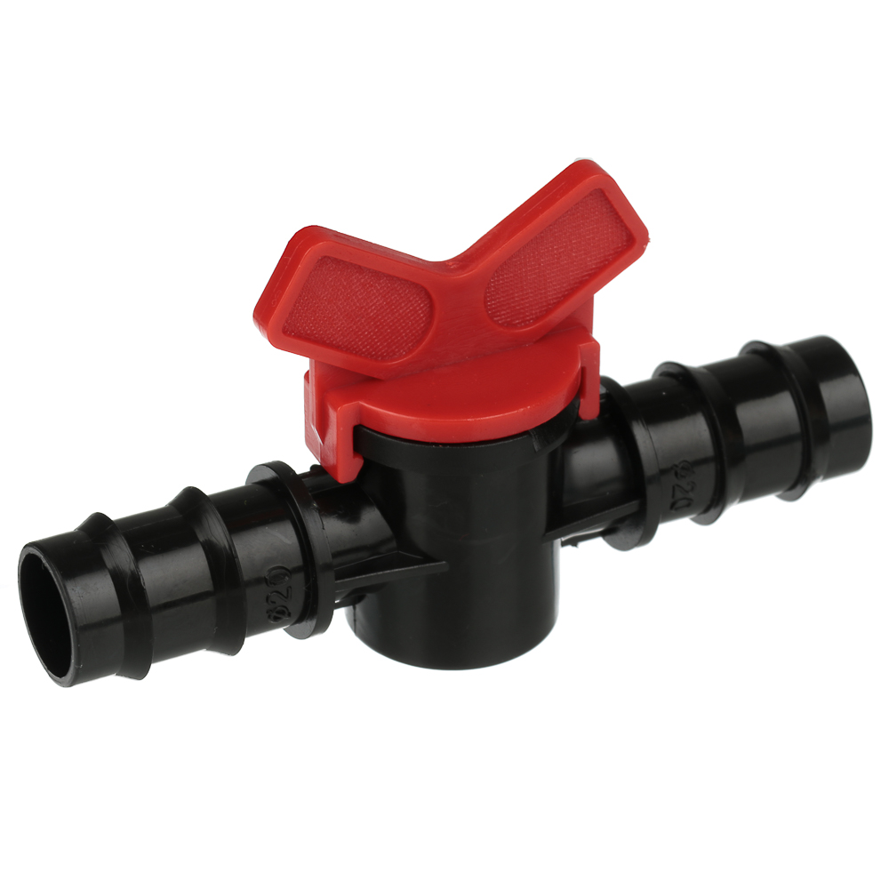 Кранпроходной для шланга, пластмасса, d20x20 мм, 3х10х6