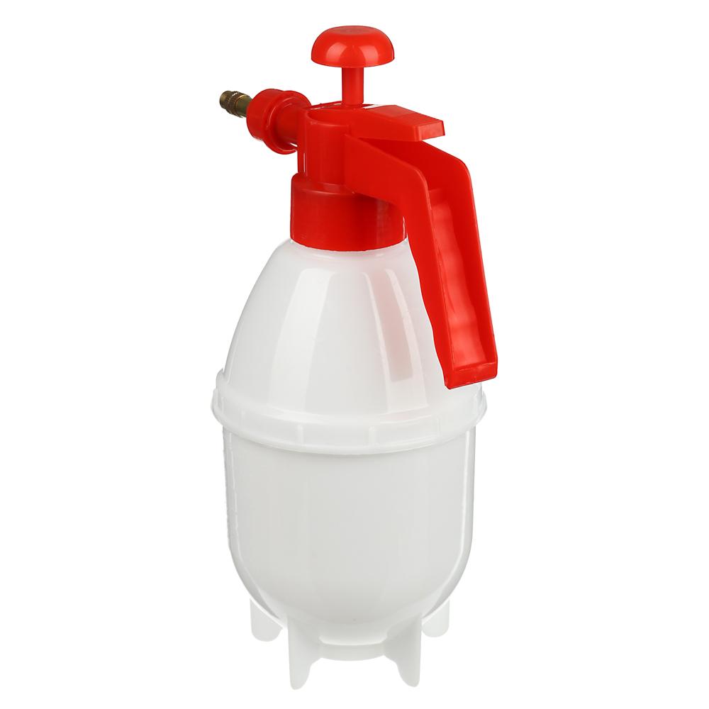 Пульверизатор помповый, 1,2л., 27см, пластик
