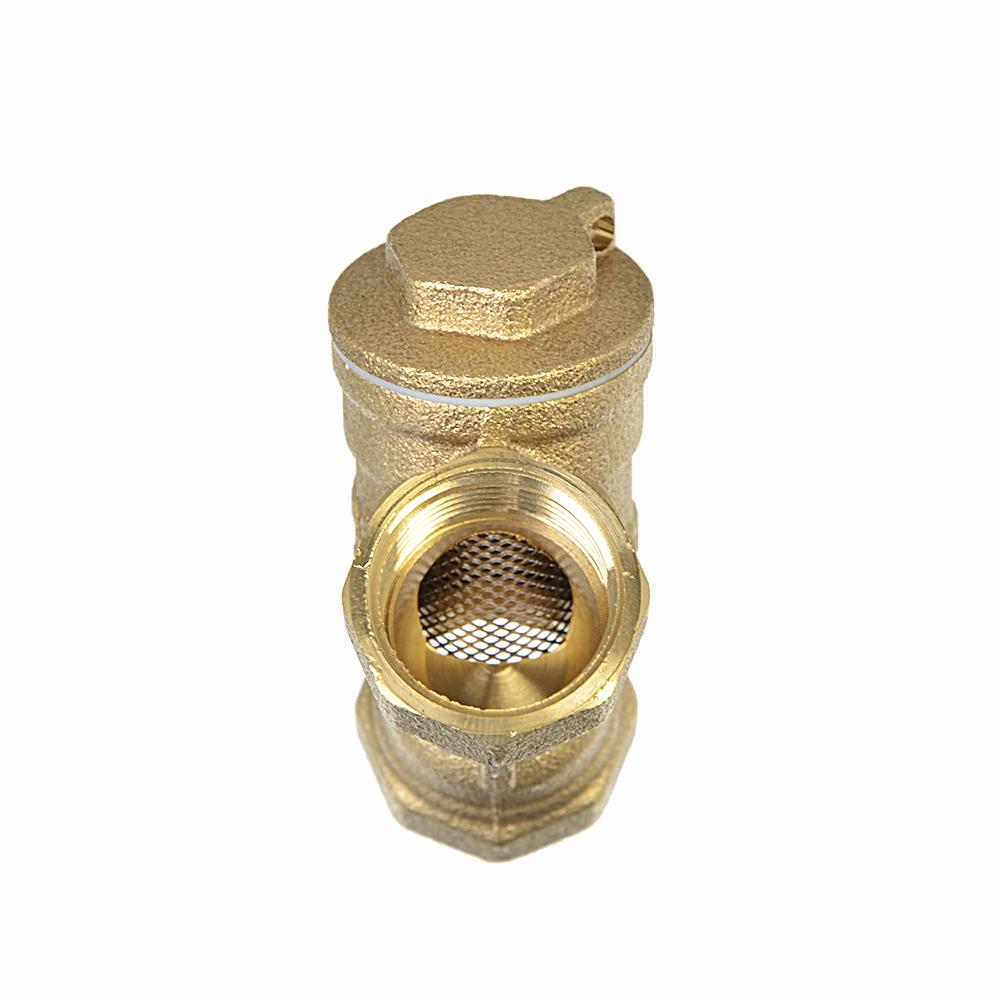Фильтр Y-образный с отверстием под пломбу Ду 15, FRESSO ПРОФФ арт 4002 D