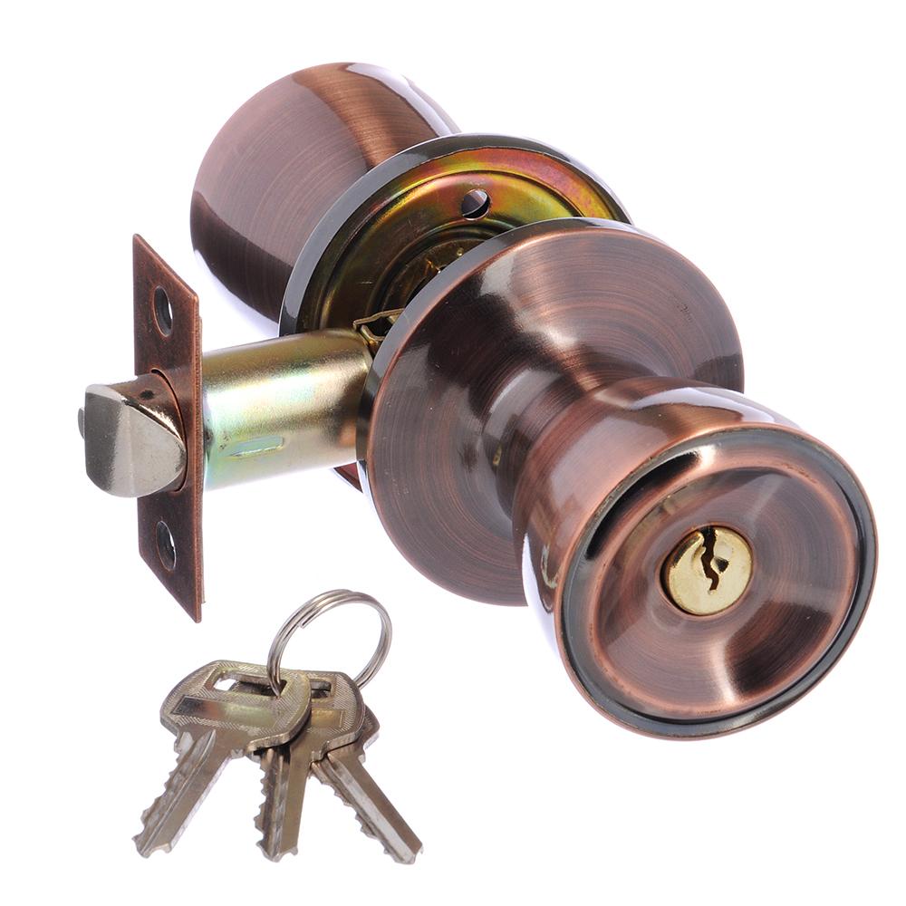 LARS Замок 5762-01 медь с ключом