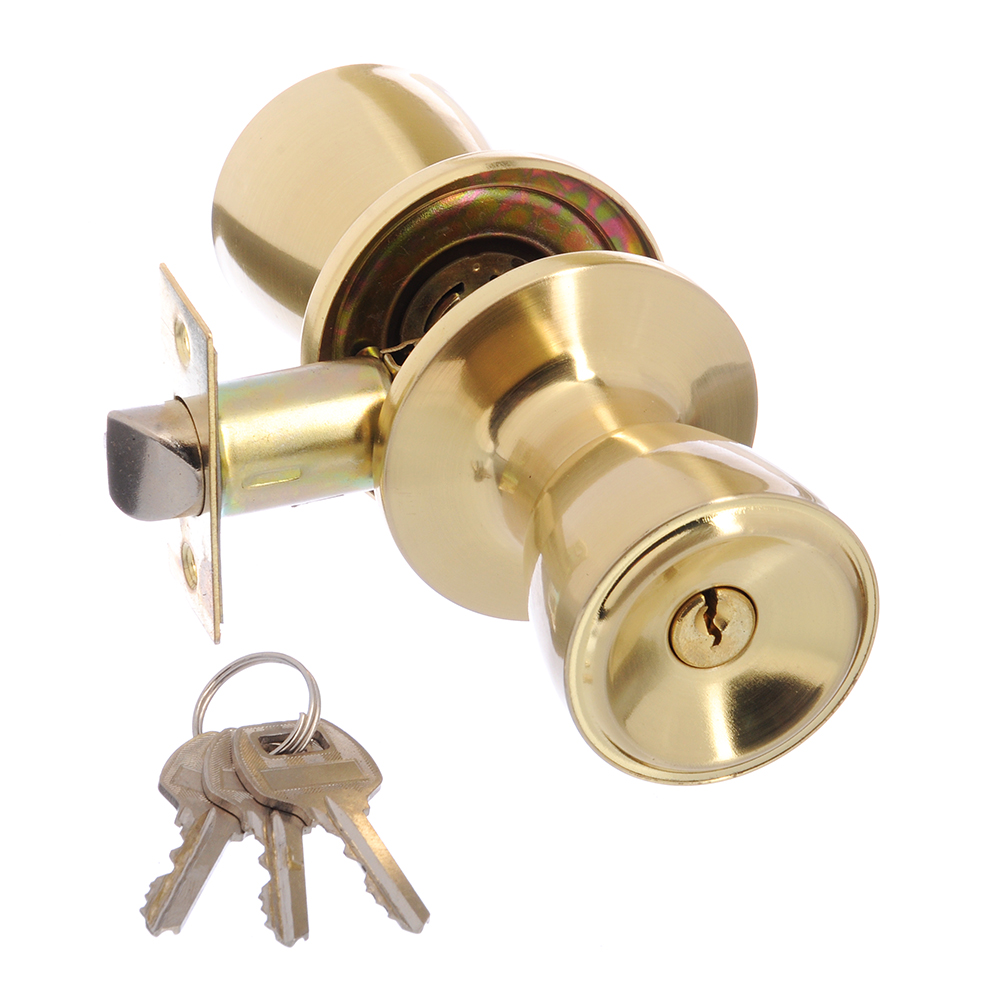 LARS Замок 5762-01 матовое золото с ключом