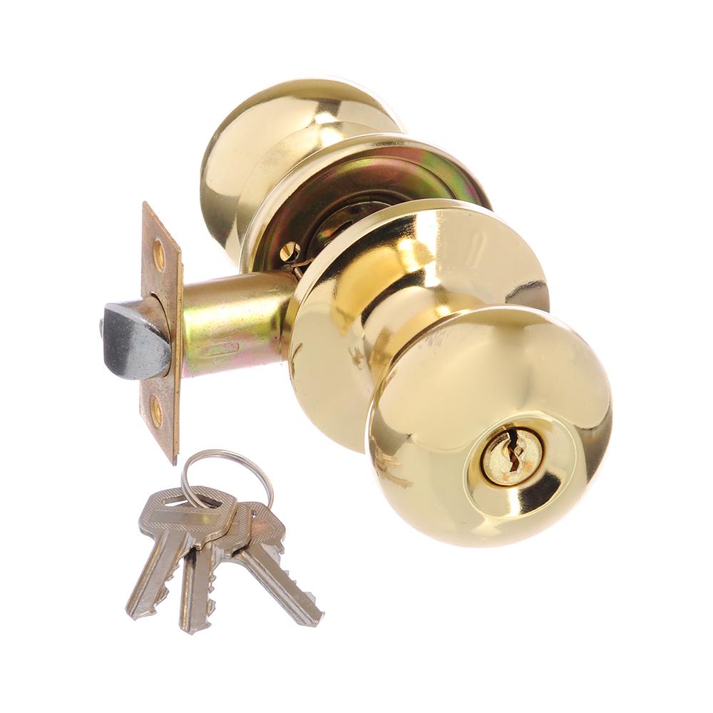 LARS Замок 6082-01 золото c ключом