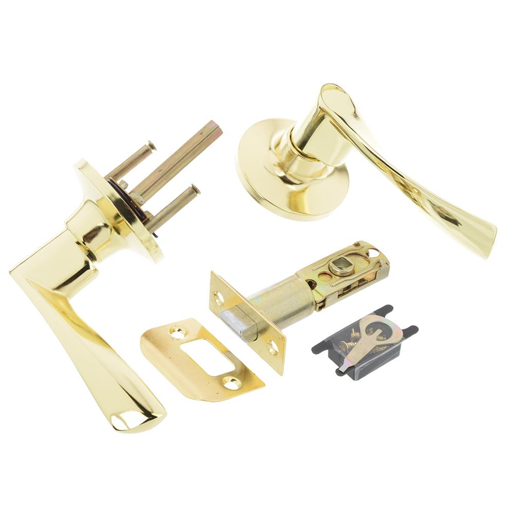 LARS Замок 0762-05 золото без ключа, без фиксатора